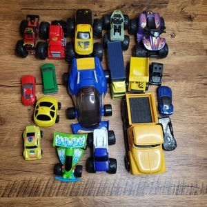 Lot of race card truck toys 3lbs
